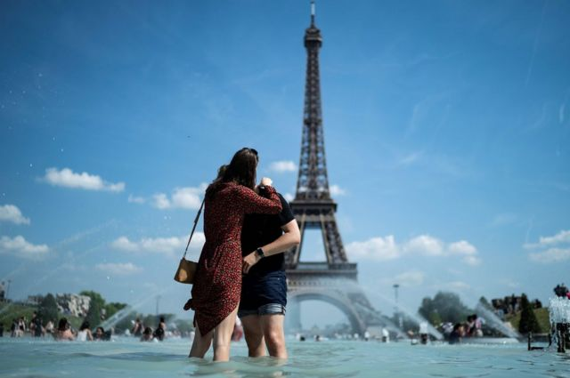 In pictures: Europe's June 2019 heatwave