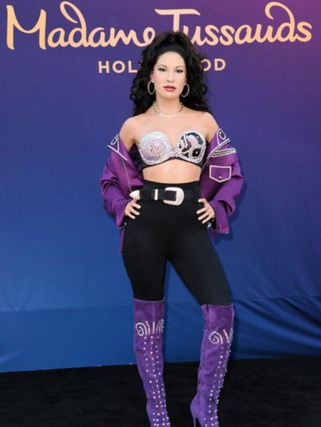 Figura de cera de Selena Quintanilla en Hollywood