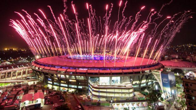 Le mythique stade de Rio de Janeiro où le roi Pelé a marqué son 1000e but en 1969 (archives)