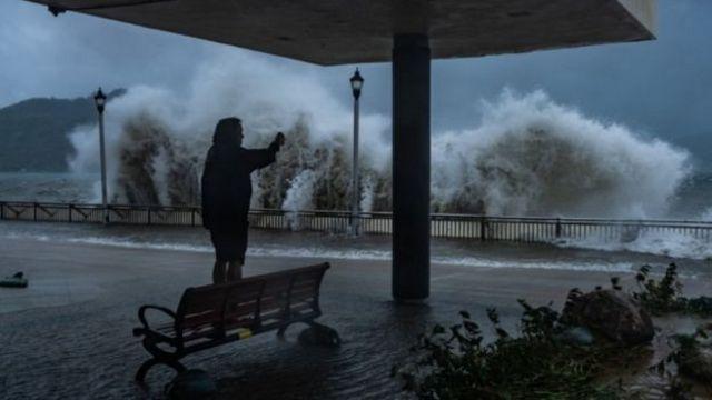 Oke ifufe Typhoon Mangkhut na philipines nakwa China