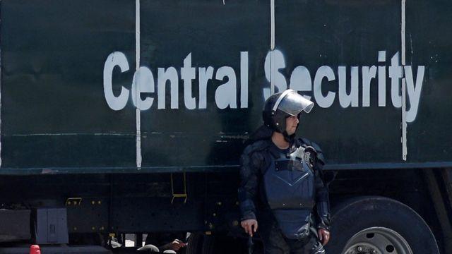 فرد أمن في مصر