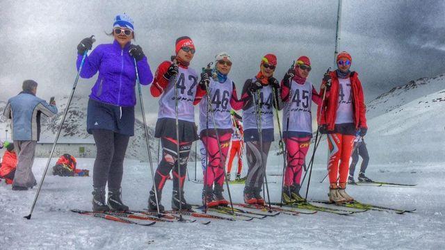 تیم اسکی زنان ایران