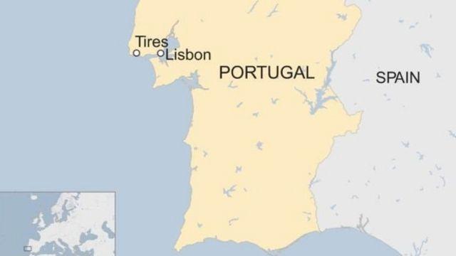 Tires ni hafi ya Lisbone nko ku km 20