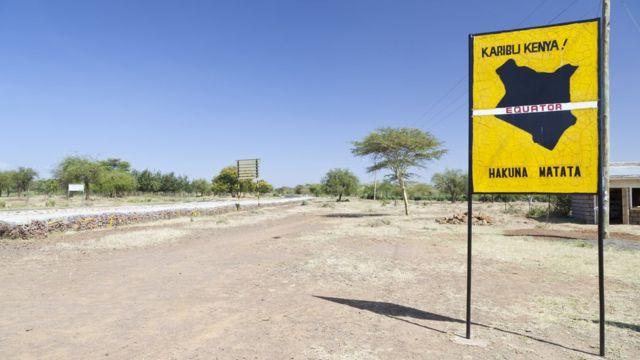 Hakuna Matata signs in Kenya