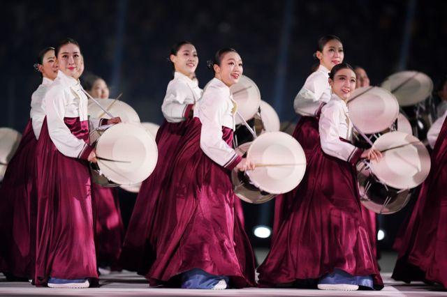 افتتاحیه بیست و سومین دوره المپیک زمستانی پیونگ چانگ