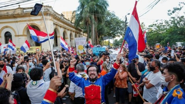 Protests in Paraguay