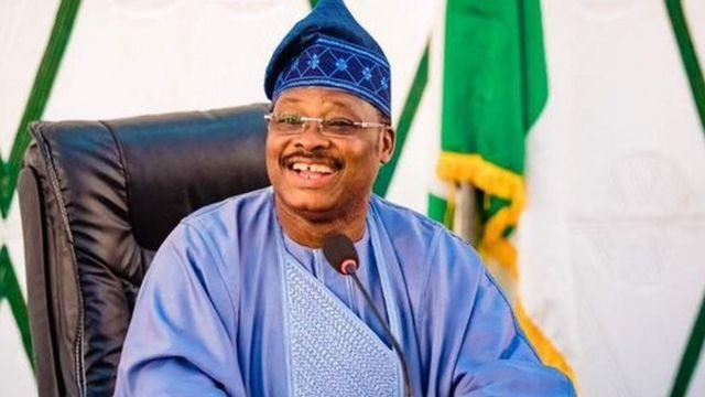 Abiola Ajimobi ya zama shugaban riƙo na jam'iyyar APC - BBC News Hausa