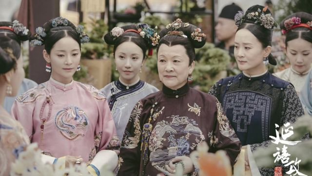 Characters from Yanxi Palace