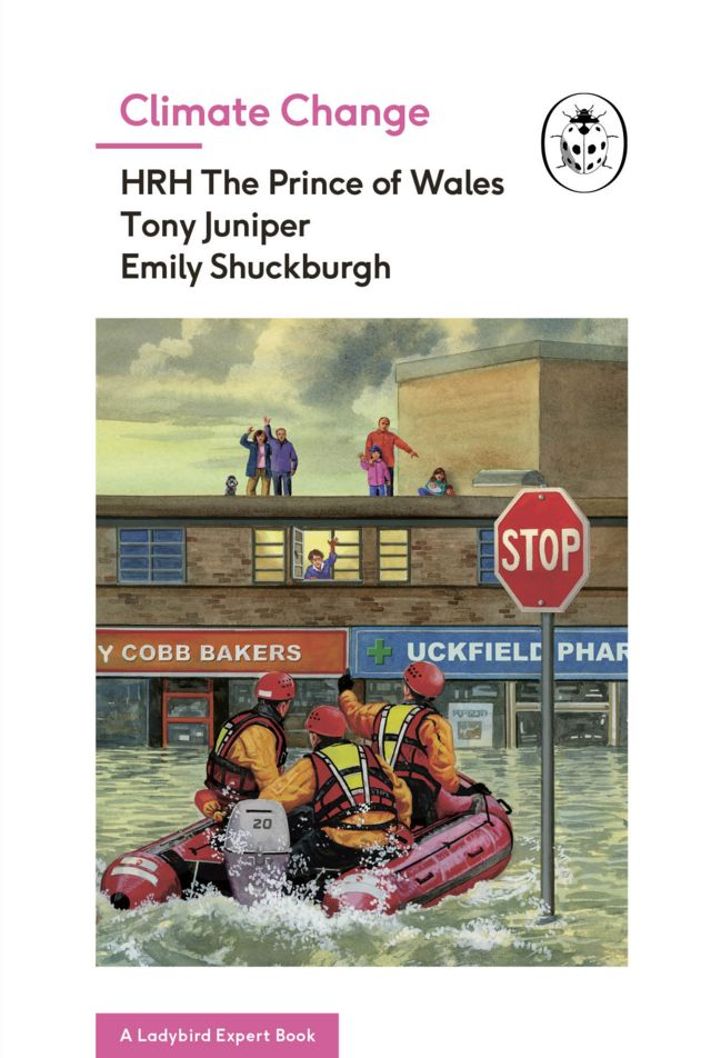 Prince Charles co-authors Ladybird climate change book
