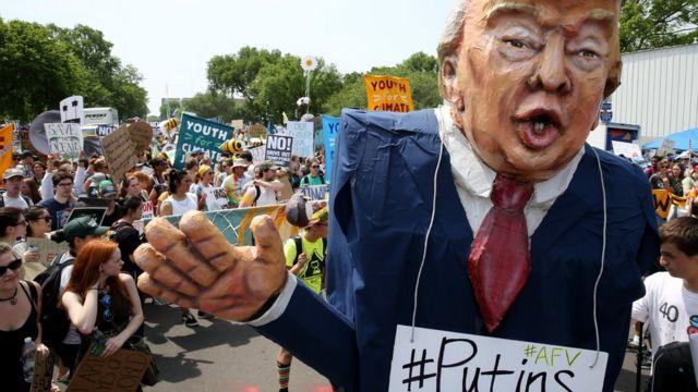 Марш в Вашингтоне