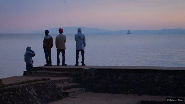 kivu, danau kivu, afrika