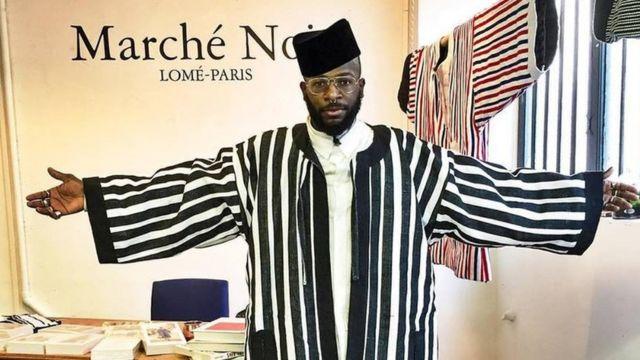 Marché Noir Lomé-Paris, une marque composée de friperie et d'une ligne de vêtements africains revisités