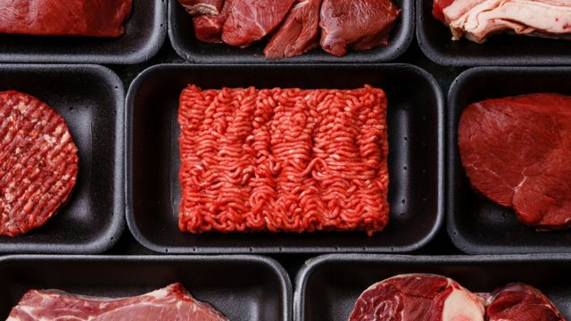 file picture of processed and red meat