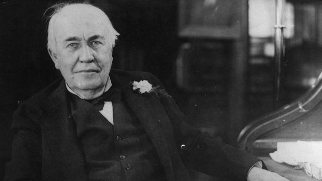 Thomas Edison en 1925.