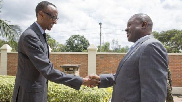 Imbere y'imvururu za politike mu 2015, abo bategetsi bompi bari bashize hamwe