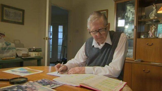 Chris Cattanach, 84, from West Sussex