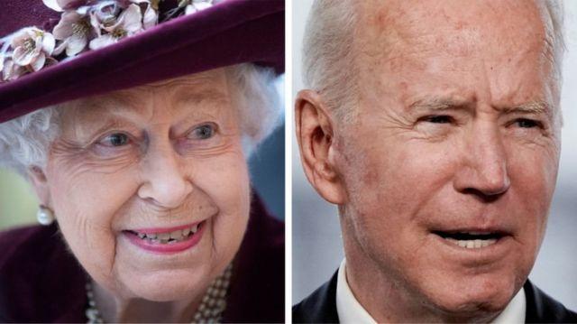 Kraliçe ve Biden