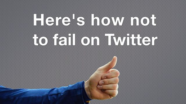 BBC Monitoring runs through examples of what not to do on Twitter