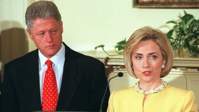 Bivši američki predsednik Bil Klinton i Hilari Klinton