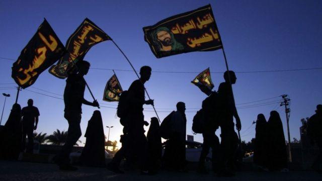 ملايين المسلمين الشيعة يحيون ذكرى الاربعين في كربلاء