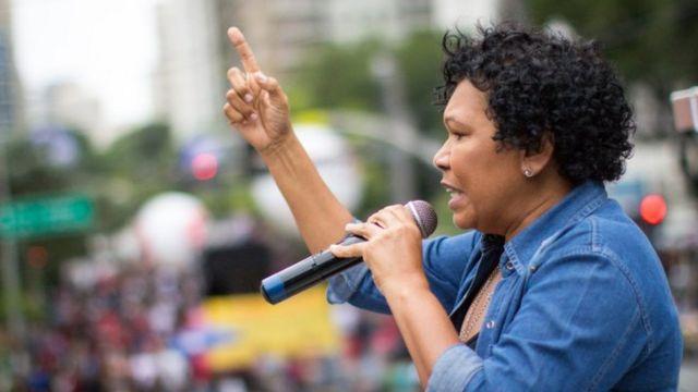 Vera Lúcia Salgado, candidata presidencial do PSTU