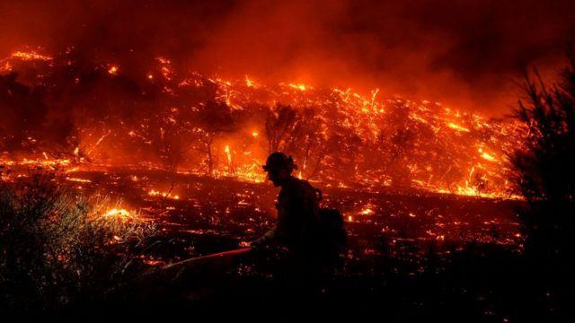 California yangın