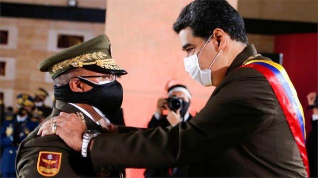 Maduro y Reverol.