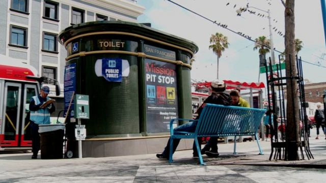 Anti-pee wall in San Francisco makes a splash