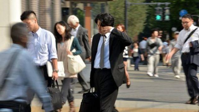 คนญี่ปุ่นวัยทำงาน