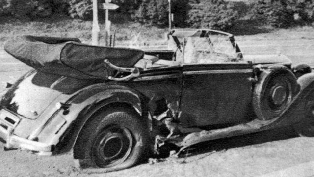 السيارة التي اغتيل فيها هايدريش