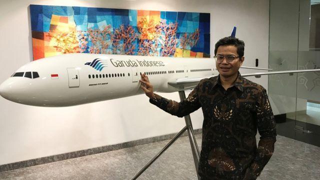 Pahala Mansury, Garuda Indonesia