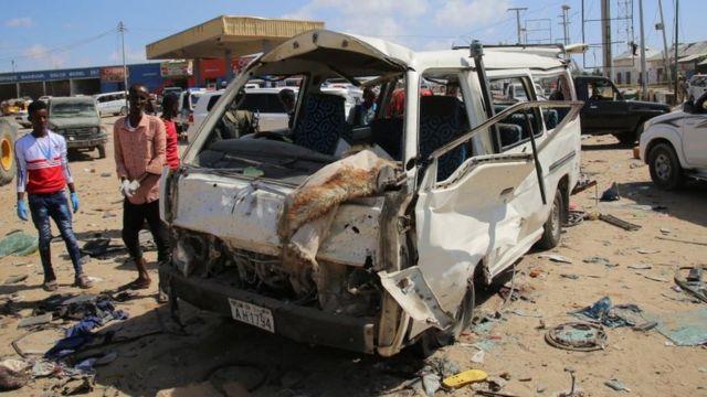 சோமாலியாவில் கார் வெடிகுண்டு தாக்குதல் - குறைந்தது 73 பேர் பலி