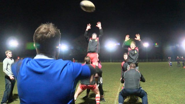 Wetherby RUFC training session