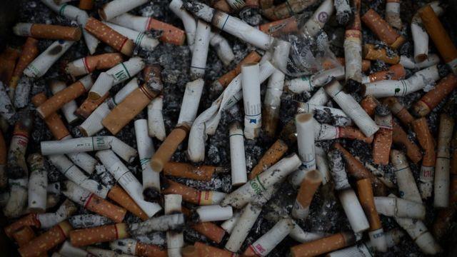 ก้นบุหรี่