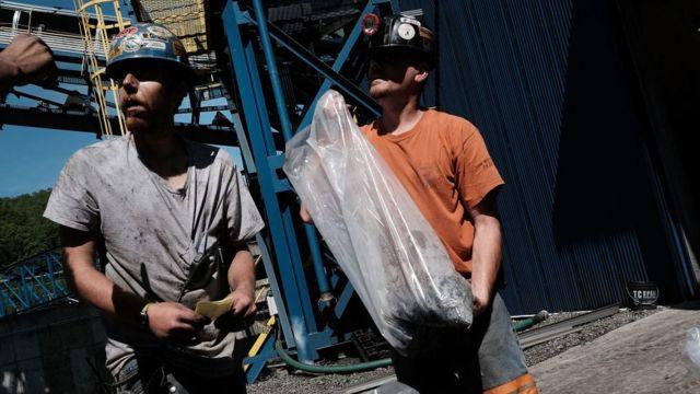 Mineros de carbón