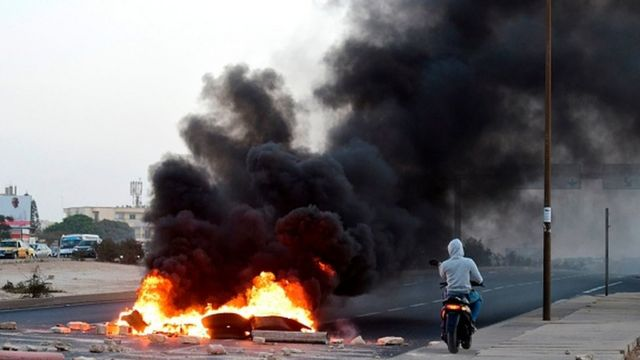 En 2012, Macky Sall a été élu dans un contexte tendu, avec les violentes manifestations contre la candidature jugée illégale d'Abdoulaye Wade.