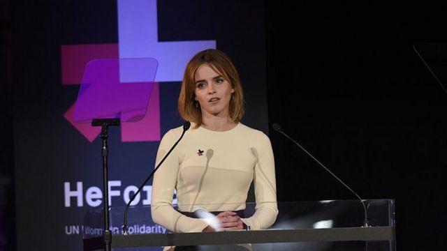 Emma Watson é uma das atrizes que defendem publicamente os direitos das mulheres