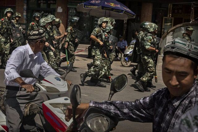 چین اویغور