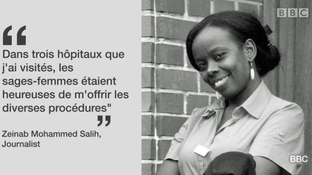 La journaliste Zeinab M. Salih
