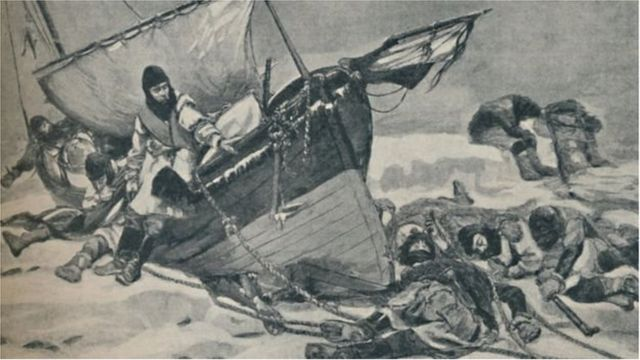 স্যার জন ফ্রাঙ্কলিনের ১৮৪৫ সালের অভিযানে দুইটি জাহাজের সব সদস্য মারা যায়