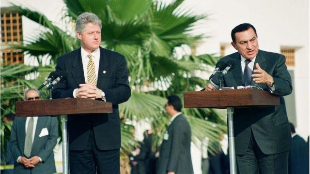 Clinton və Mübarək