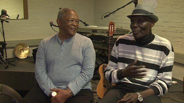 Hugh Masekela and Oliver Mtukudzi
