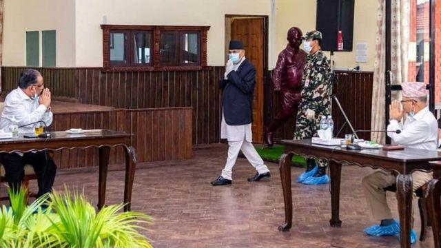केपी शर्मा ओली, माधव नेपाल र प्रचण्ड