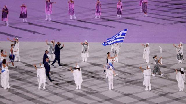 Церемония открытия Летних Олимпийских игр в Токио