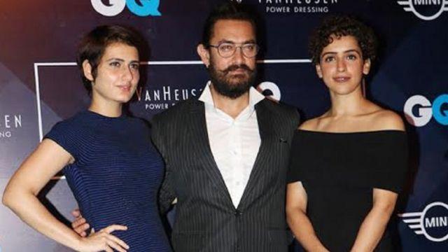 आमिर खान, दंगल, फ़ातिमा शेख, सान्या मल्होत्रा