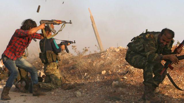 معارك في حلب