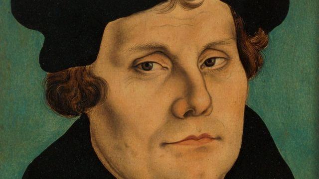 Martinho Lutero, em pintura do século 16