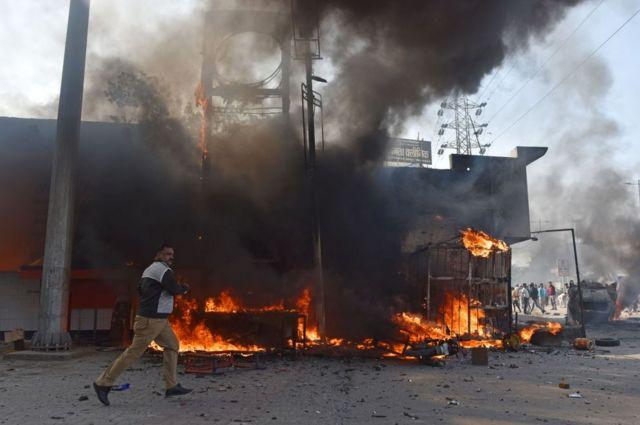 દિલ્હીમાં હિંસા