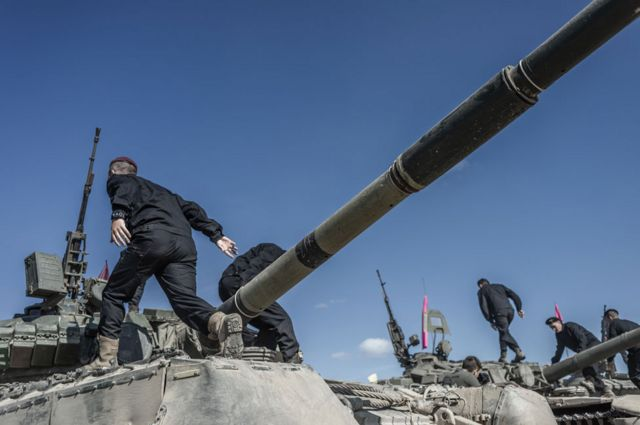 La Casa Blanca congeló centenares de millones de dólares en ayuda militar a Ucrania.