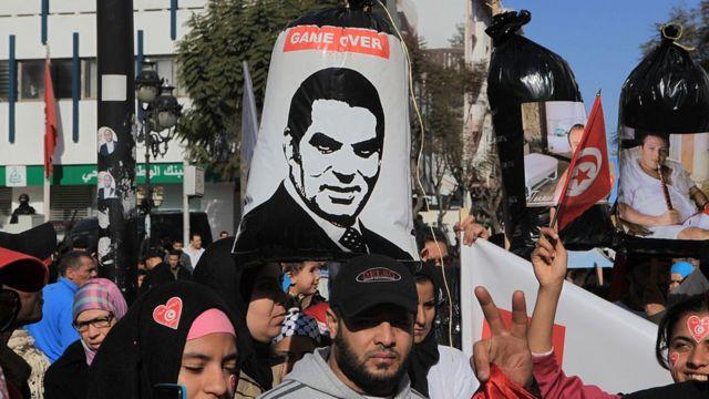 La rue a chassé Ben Ali après 23 ans au pouvoir